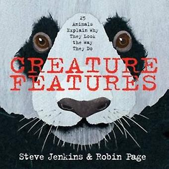 Creature Features by Steve Jenkins - Robin Page - 9780544233515 Book
