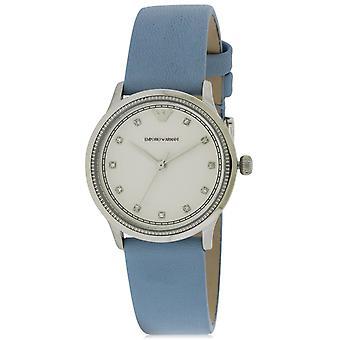 Armani Ar1914 Women's Alpha Xsmall Leather Watch