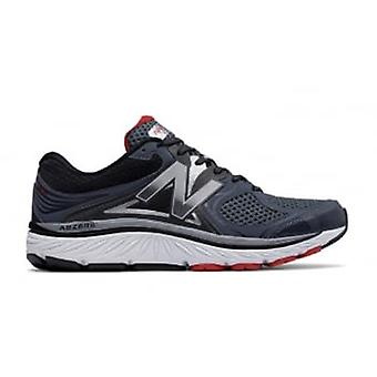 New Balance 940v3 mens D breedte (standaard) Road Running Shoes W/ondersteuning voor overpronatie blauw/rood