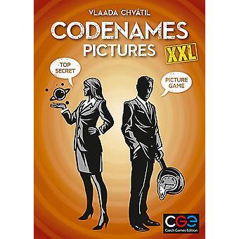 Codenames billeder XXL Card spil
