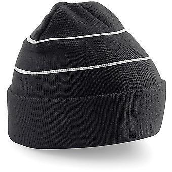 Beechfield - Chapeau de bonnet tricoté Enhanced-Viz