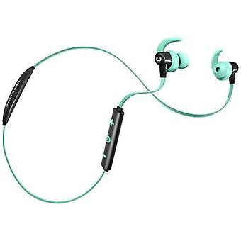Fresh ' n opprører ess trådløse Sports ørepropper sport øretelefoner med Bluetooth mikrofon farge blå