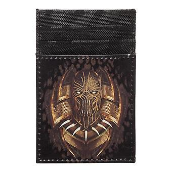 Black Panther Killmonger Front Pocket Card Wallet