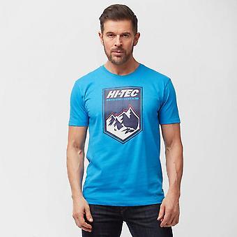 Nya Hi Tec män ' s Alperna kortärmad T-shirt blå