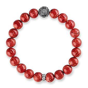 Thomas Sabo armband med syntetisk pärla från Women ' s silver Sterling 925