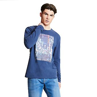 Dare 2b Mens Industry Graphic Long Sleeve Casual T Shirt