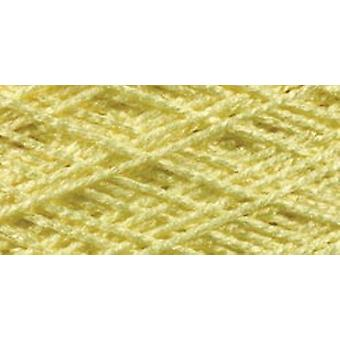 Needloft Craft Yarn 20 Yard Card Lemon 510 20
