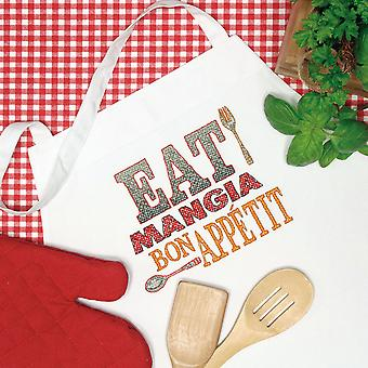 Good Eats Apron Stamped Cross Stitch 1 Pkg 72 73982