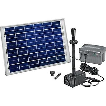 Solar pump set incl. lighting, incl. battery 1500 l/h Esotec Siena Plus 101780