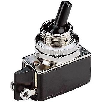 Toggle switch 250 Vac 2 A 1 x Off/On Marquardt 010