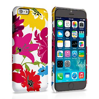 Caseflex iPhone 6 e 6s Retro Flower Bouquet custodia