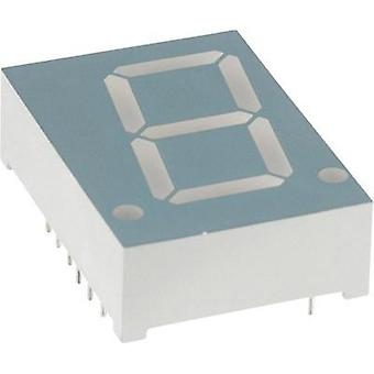 Seven-segment display Green 20.4 mm 2 V No. of digits: 1