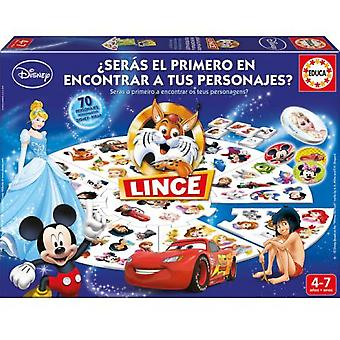 Educa Lince Disney (Kids , Toys , Table games , Memory games)
