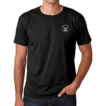 Rhodesian Army Selous Scouts Special Forces geborduurd Logo - Ringspun katoen T Shirt