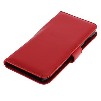 OTB (synthetic leather) for Apple iPhone 6 Pocket plus Bookstyle Red