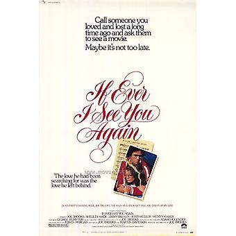 If Ever I See You Again Movie Poster Print (27 x 40)
