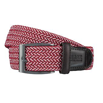BRAX belts men's belts textile woven belt red 4019