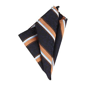 Righe marinare del panno Hanky Pochette Cavalier fazzoletto icone di Mr. Orange
