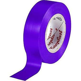 Electrical tape Coroplast Violet (L x W) 10 m x 15 mm Acrylic Content: 1 Rolls