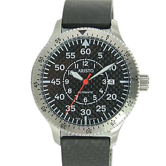 Aristo mens watch carbon automatic 7H74CAR