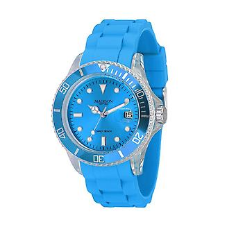 Candy Time by Madison N.Y. Uhr Unisex U4357K2 hellblau