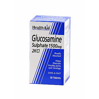 Health Aid Glucosamine Sulphate 2KCl 1500mg, 30 Tablets
