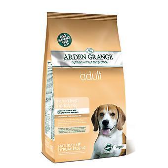 Arden Grange voksen rige i fersk svinekød & ris 2kg