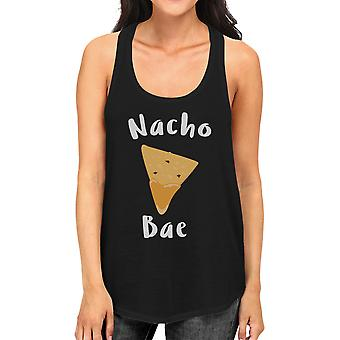 Nacho Bae Women's Tank Top Cute Graphic Funny Gift For Food Lover