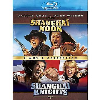 Shanghai Noon/Shanghai Knights [BLU-RAY] USA importerer