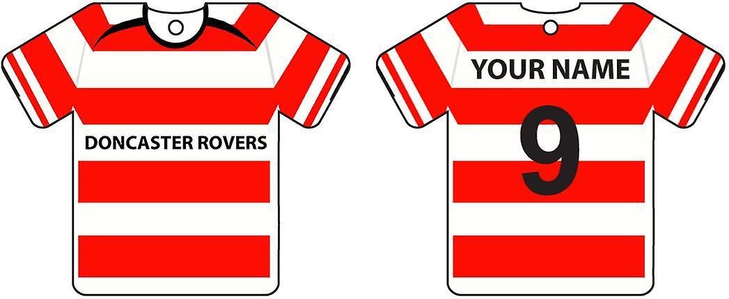 Personalizada camiseta Doncaster Rovers Football Ambientador para el coche