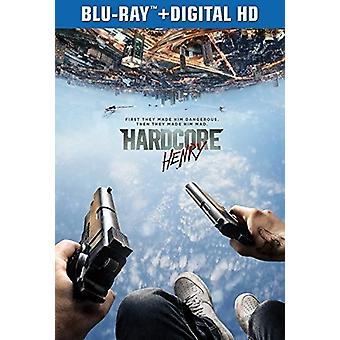 Hardcore Henry [Blu-ray] USA import
