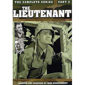 Løjtnant - løjtnant-komplet serie Pt. 2 [DVD] USA import