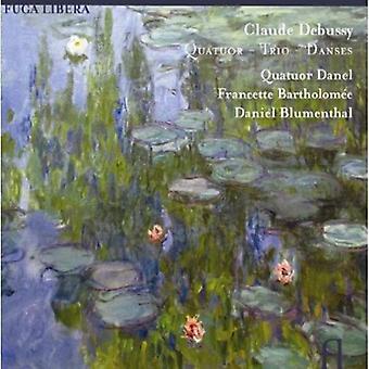 C. Debussy - Debussy: Kvartetten; Trio; Danses [CD] USA importerer