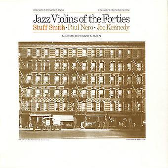 Jazz violiner av fyrtiotalet - Jazz violiner av fyrtiotalet [CD] USA import