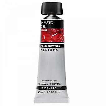 Daler Rowney Impasto Gel Medium Gloss 75ml Tube