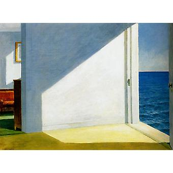 Edward Hopper - Rooms by the Sea Poster Print Giclee