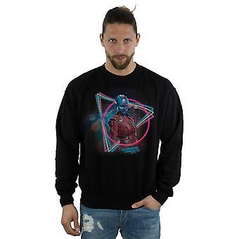 Verwonder u mannen hoeders van de Galaxy Neon Nebula Sweatshirt