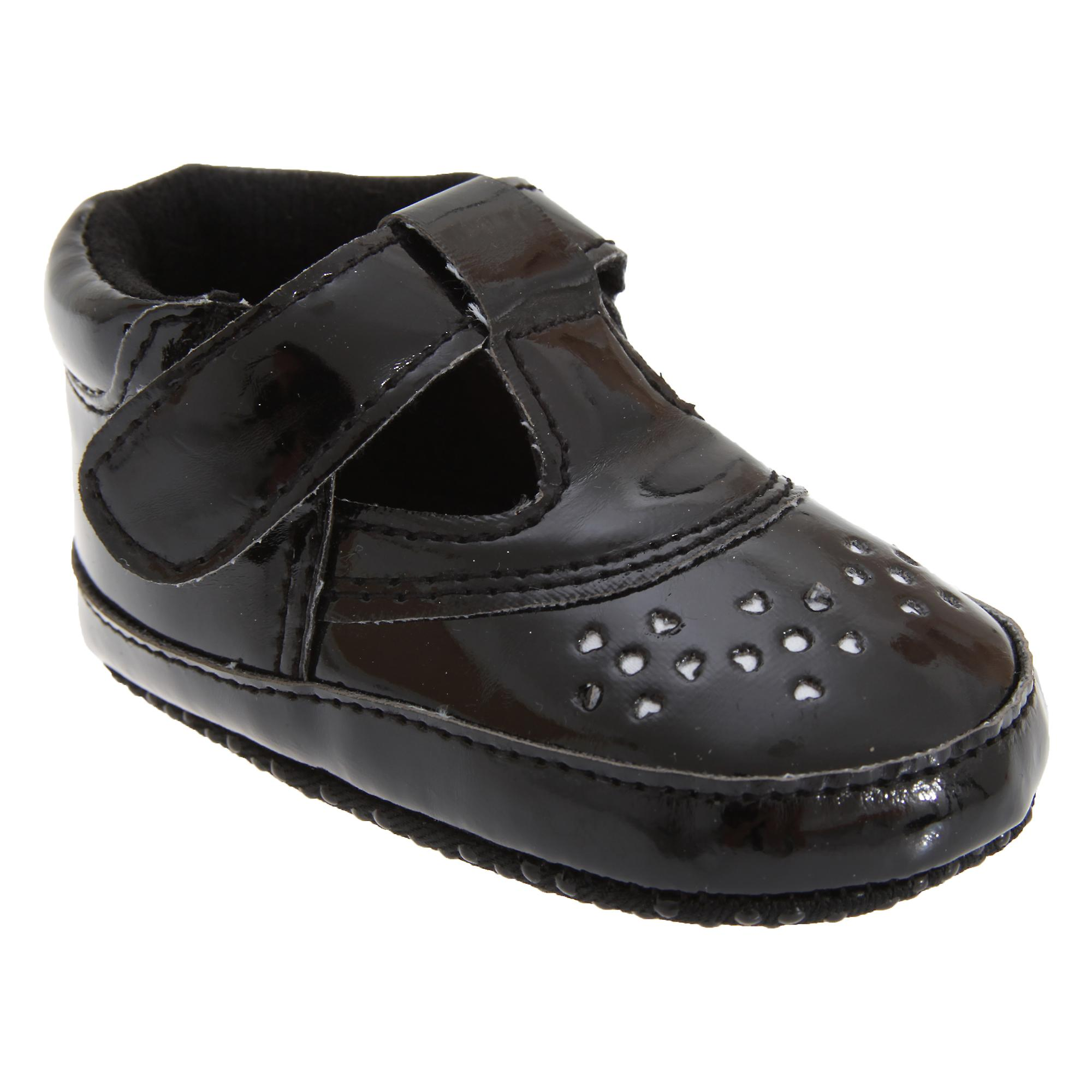Baby Girl Strap Shoes In Black With Strap Girl 704fe6
