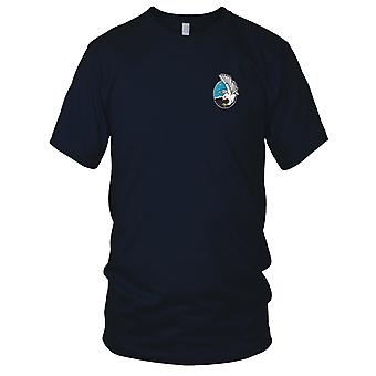 USAF Airforce - 449th Fighter Squadron geborduurd Patch - Mens T Shirt