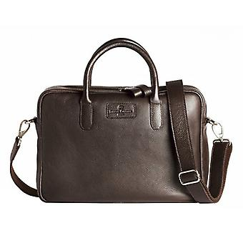 Simon Carter Hove Laptop Bag - Brown