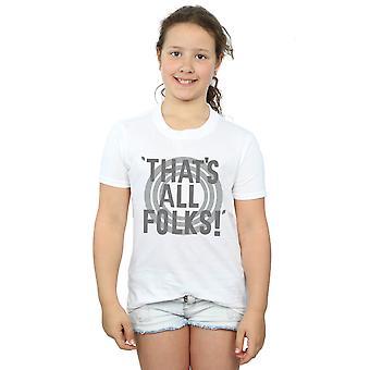 Looney Tunes piger, det er alle folk tekst T-Shirt