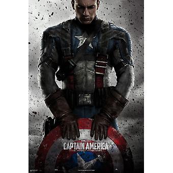 Marvel Captain America plakat plakat Print