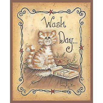 Wash Day Poster Print by Mary Ann June (8 x 10)