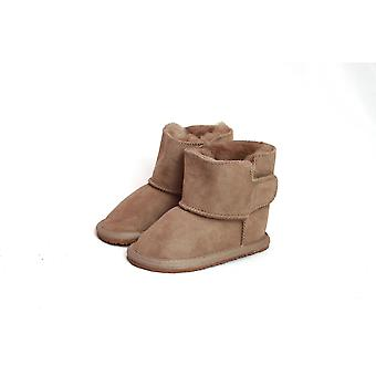 Eastern Counties Leather Baby Frankie Rubber Sole Sheepskin Boots