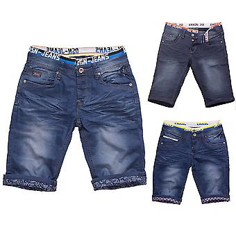 Mens JoggJeans shorts shorts summer Bermuda slim stretch Boxer