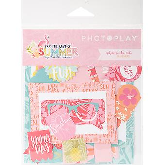 For The Love Of Summer Ephemera Cardstock Die-Cuts-  PPFS2535
