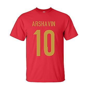 Andrei Arshavin Rusland Hero T-shirt (rød)