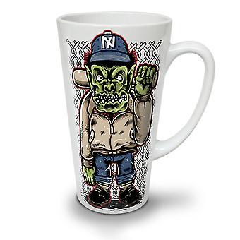 Ogre Criminal NEW White Tea Coffee Ceramic Latte Mug 17 oz   Wellcoda