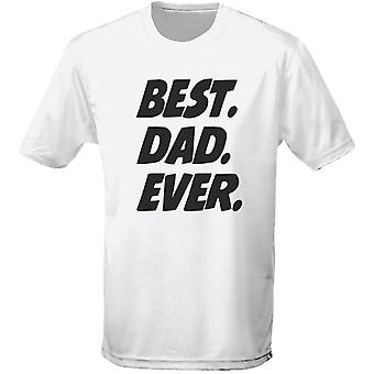 Best Dad Ever Father's Day Mens T-Shirt 10 Colours (S-3XL) by swagwear