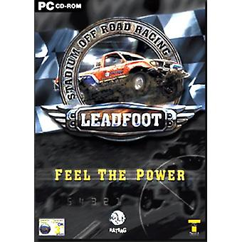 Leadfoot stadion Off-Road Racing (PC CD)